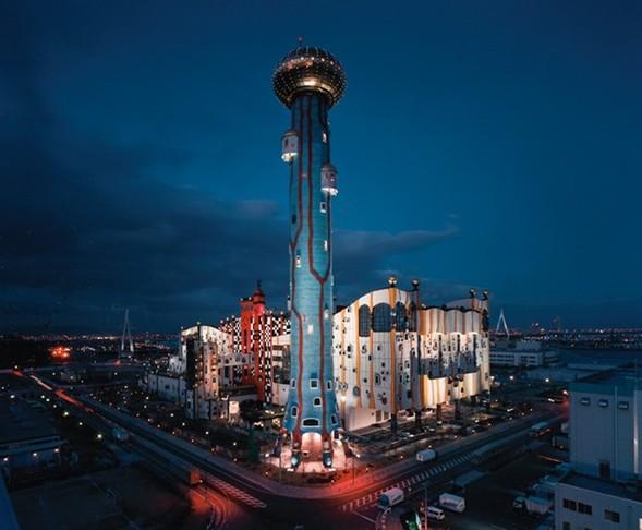 Мусоросжигательный завод в Японии