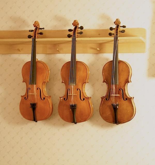 Скрипки ручной работы